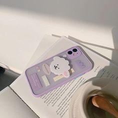 Cute Cases, Cute Phone Cases, Iphone Cases, Iphone 11, Apple Iphone, Kawaii Phone Case, Diy Phone Case, Luz Led, Coque Iphone