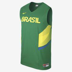 Camiseta Nike Brasil 2014 www.basketspirit.com/camisetas-NBA-NCAA-pantalones/Camiseta-Baloncesto