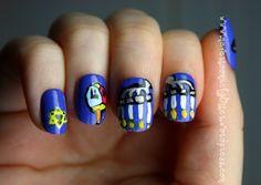 hanukah nail art
