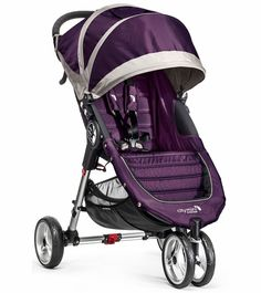 Baby Jogger 2016 City Mini 3W Single Stroller - Black