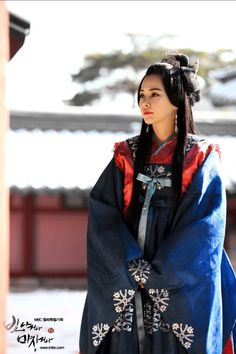 Shine or Go Crazy (빛나거나 미치거나) Korean - Drama - Picture Traditional Hairstyle, Korean Traditional Dress, Traditional Dresses, Traditional Chinese, Korean Hanbok, Korean Dress, Korean Outfits, Historical Costume, Historical Clothing