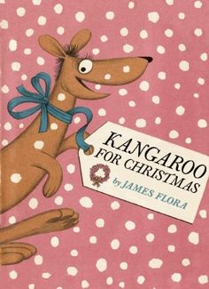 The day before Christmas, Kathryn receives a big box from her Uncle Dingo. It's a lively kangaroo, and Kathryn can't wait to show grandma. So, she hops onto Adelaide's back and off they go! Kangaroo for Christmas is a merry Christmas tall tale full of witty illustrations that are sure to draw laughs and hoots of pleasure. Story and artwork by James Flora. (Ages 4-8)