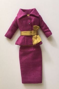 Bellissima Couture Suit For Fashion Royalty/Silkstone Barbie Doll | eBay