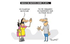 Charge do dia: Quilo da Batata sobe 37,83% | S1 Noticias