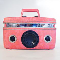 Okay if I had lots and lots of money this stereo would be mine for home and travel! Candy now featured on Fab.