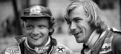 Niki Lauda, James Hunt, F1