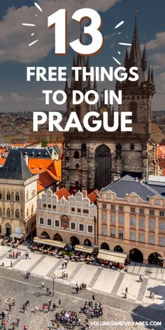 Bucket List Destinations, Amazing Destinations, Travel Destinations, Prague Astronomical Clock, Old Town Square, European Destination, Free Things To Do, Beautiful Places To Visit, Travel Guides