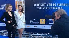 Joy Anna Thielemans en Moora Vander Veken sexy op de rode loper