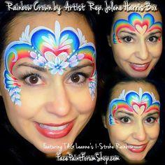- Famous Last Words Face Painting Tips, Face Painting Designs, Love Painting, Painting For Kids, Face Paintings, Rainbow Face Paint, Homemade Face Paints, Face Paint Makeup, Wie Macht Man
