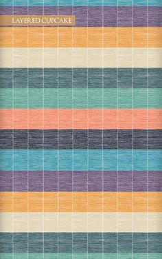 壁紙サンプル(A4サイズ):Wallpaper Republic Giselle / WR0348PPC-LCC (layercupcake)