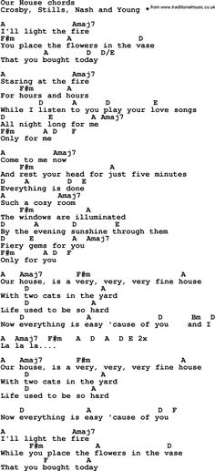 Song Lyrics with guitar chords for Brown Eyed Girl | music ...