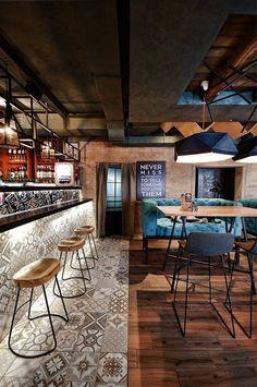 floor #restaurantdesign
