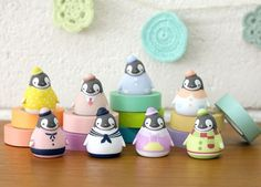 Korea Peperico Penguin Random Mini Figure Vol 2 Dress Room 3 5 x 4 5 Cm | eBay