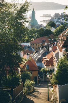 davykesey: The view from our doorstep in Bergen Norway.
