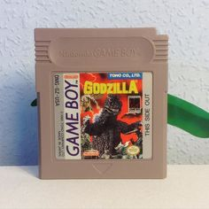 Gorgeous! shared by dasretromaedel #gameboy #microhobbit (o) http://ift.tt/1UwIlyl week I was finally able to add this beauty to my collection. Still one of my heros  #godzilla  #Nintendo cartridge #gamergirl #gamecollection #godzillafan