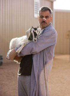 "Georges Clooney in ""The Men Who Stare at Goats"""