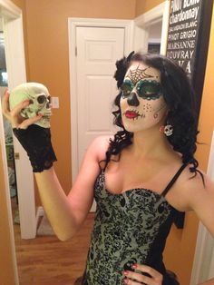 Day of the dead/ sugar skull makeup