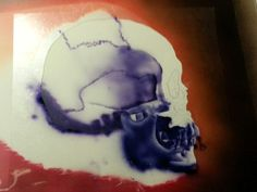Skull with flames ( Dru Blair ) #4 (23.10.13)