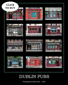Ireland Pubs, Dublin Pubs, Poster Prints, Posters, Prints For Sale, Irish, Family Room, Photography, Den
