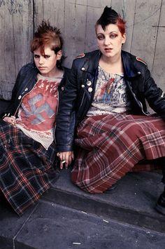 Living Alternative by Derek Ridgers (London Youth 1978-1987) #alternative #extreme