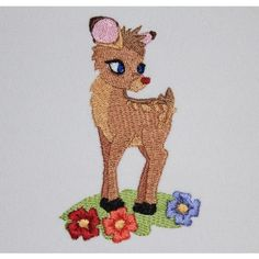 Deer O Deer | machine embroidery pattern FREE | Machine Embroidery Designs