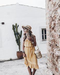Yellow Silk And Basket