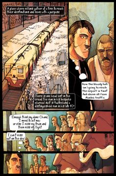 Train of Thoughts is a project by Crimzon studio. It will be an anthology of Graphic Novel stories based on the famous Mumbai Local Trains http://www.indiegogo.com/projects/train-of-thoughts