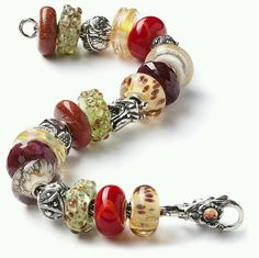Trollbeads bracelet - me, my sister and my girls got them from my mama before she passed away...it is one of my most cherished things.