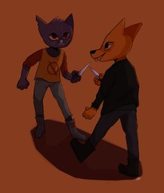 skyberiart Tumblr| Night in Woods mae-borowski and Gregory