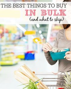 Not everything sold in bulk is a great deal. Check out the best things to buy in bulk and what to skip. Save money and fill your pantry with these tips.