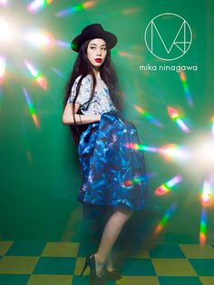 M / mika ninagawa — M / mika ninagawa AW Ad Fashion, Fashion Photo, Print Ads, Great Photos, Art Direction, Girly, Classy, Poses, Portrait