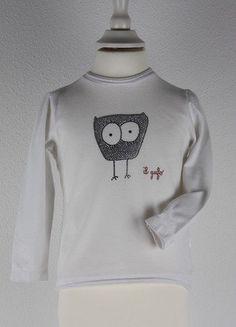 Kaufe meinen Artikel bei #Mamikreisel http://www.mamikreisel.de/kleidung-fur-madchen/langarmshirts-slash-longsleeves/31290583-il-gufo-sehr-edles-shirt-pulli-swarovski-steine-eule-gr92-2j-np172