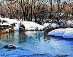 Carol Nelson 'Winter Reflections'