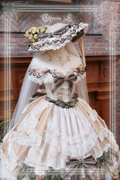 Pretty Outfits, Pretty Dresses, Beautiful Outfits, Fairytale Dress, Fairy Dress, Kawaii Fashion, Lolita Fashion, Old Fashion Dresses, Anne With An E
