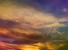 """Sky Mark"" #PoeArt #PhotoArt by C Rose via The World Poetized #micropoetry"
