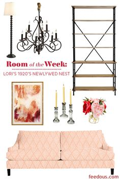 Decorating Dilemma: Lori's Newlywed Apartment - http://www.feedous.com/interior-design/decorating-dilemma-loris-newlywed-apartment.html