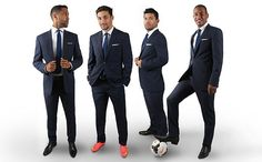 TM Lewin is the official formal wear partner of Premier League champions Manchester City