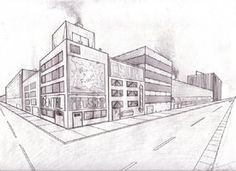 two point perspective projects   deviantART: More Like 2 point perspective buildings by ~xxxxxsvkxxxxx