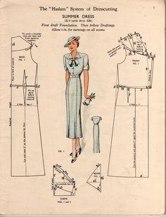 1930s- Summer Dress