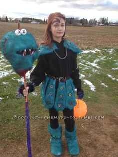 Coolest Homemade Muppet Slayer Costume... Coolest Halloween Costume Contest