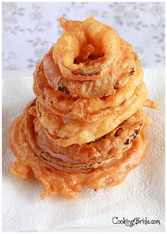 Three Special Steps: Beer Battered Onion Rings