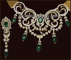 Diamond Heavy Designer Sets | Jewellery Designs