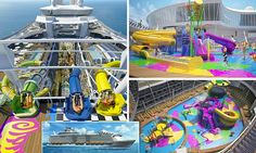 Royal Caribbean to introduce a WATER PARK on Harmony of the Seas | Daily Mail Online