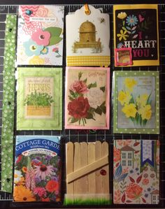 This is my first PL from Susan in N. Hollywood, California. I love the Spring Garden theme! Thank you, Susan! Feb. 2016 Susan put a lot of effort into making this very pretty. I hope to swap with her again in April.