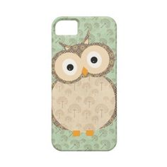 Cute baby owl iphone5 covers iPhone 5 covers from Zazzle.com ($44) via Polyvore