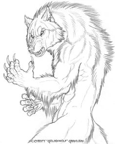 Drawing commission for Silverfoxwolf of one werewolf dominating another.^ Pencil on X Bristol paper. You may color this artwork, but please keep my copyrights intact and pr. Werewolf Hunter, Werewolf Art, Fantasy Creatures, Mythical Creatures, Animal Drawings, Art Drawings, Wolf Artwork, Vampires And Werewolves, Wolf Love