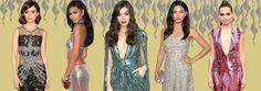 UNIVERSO PARALLELO: Ispirati alle celebrity gli abiti scintillanti del...