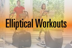 New to ellipticals? Here are some great elliptical #workouts for beginners. #Elliptical #Workout #Fitness