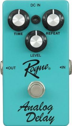 Rogue Analog Delay Guitar Effects Pedal by Rogue. $49.99