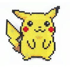 Pikachu hama beads by  pixelmustache